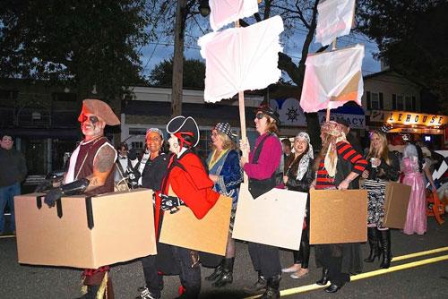 City Island Halloween Parade at Hawkins Park