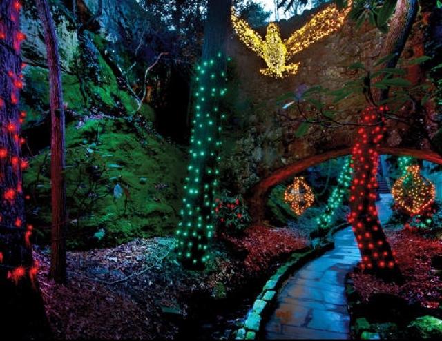 Yuggler rock city 39 s enchanted garden of lights - Rock city enchanted garden of lights ...