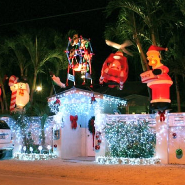 Key Arena Christmas Lights: Christmas Light Trolley Tours Of Key West